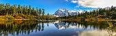 Panoramic Image of Mt. Shuksan, WA