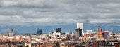 Panoramic Madrid view