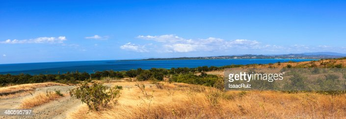 Punta melones panoramic : Stock Photo