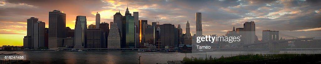 panoramic of new york : Foto de stock
