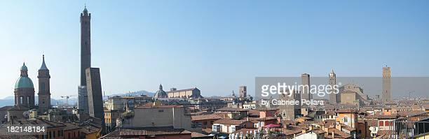 Panoramic of the Bologna skyline