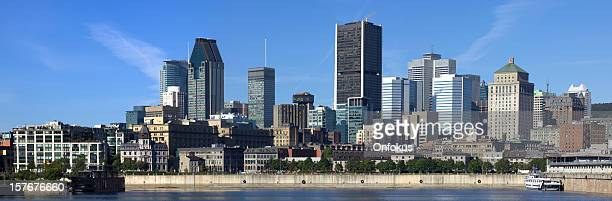 Photo panoramique de la ville de Montréal