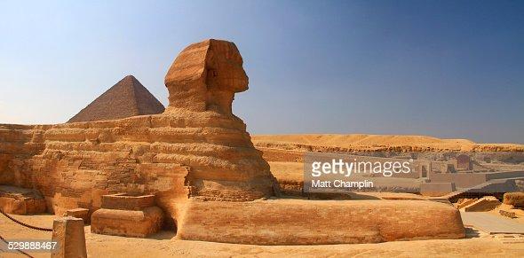Panoramic Shot of Giza Sphinx