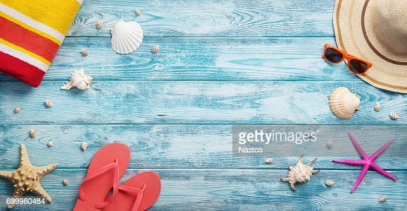 Panoramic summer background : Stock Photo