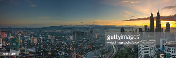 Panoramic Sunrise Kuala Lumpur