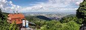 Panoramic view at Heidelberg, Germany