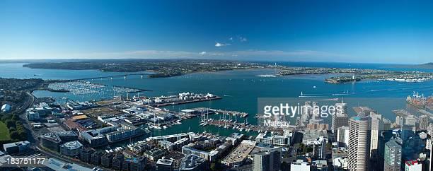 Panoramic view Auckland, New Zealand