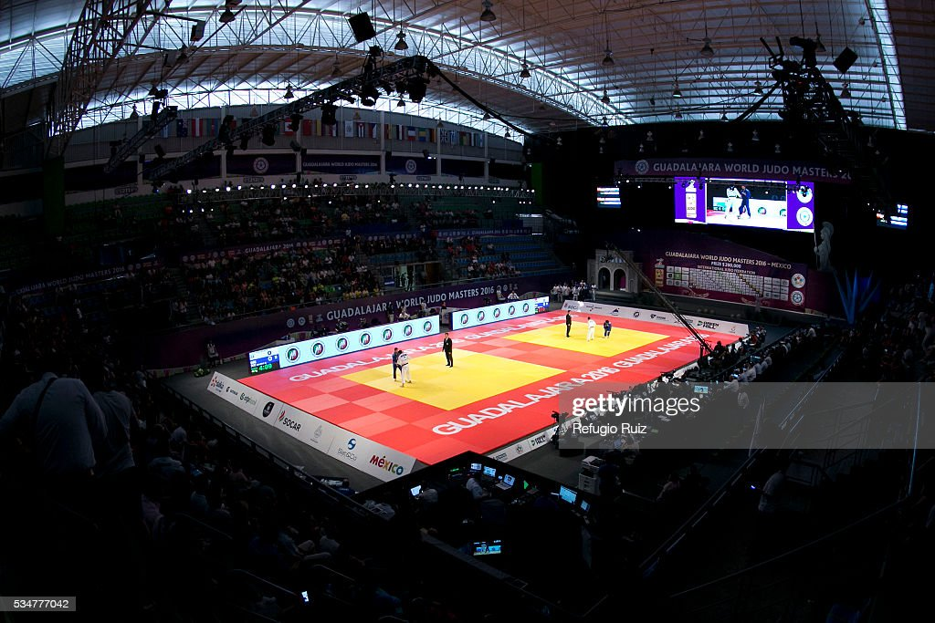 Panoramic view during the World Judo Masters Guadalajara 2016 at Adolfo Lopez Mateos Sports Centre on May 27, 2016 in Gudalajara, Mexico.