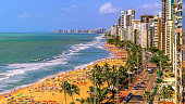 The most famous and beautiful beach in Recife, Pernambuco, Brazil.
