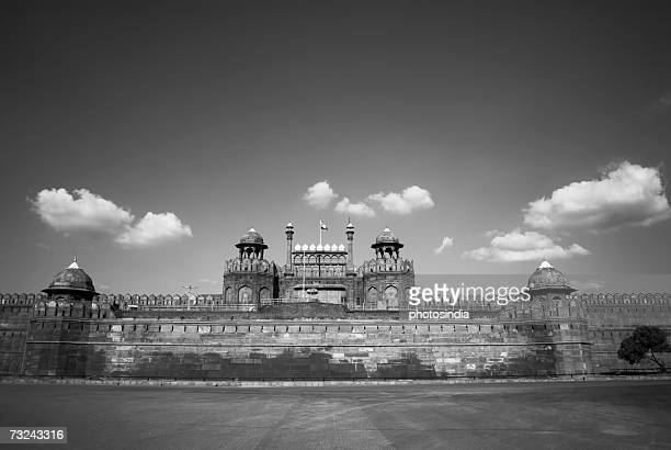 Panoramic view of a fort, Red Fort, New Delhi, India