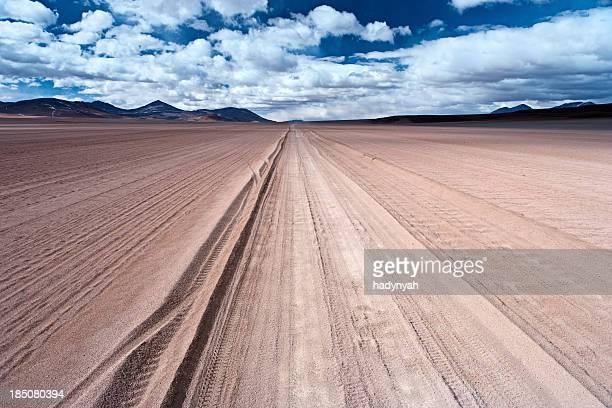 Panoramic view of Bolivian altiplano