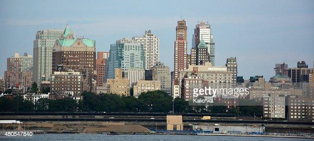 Vista panorámica de Brooklyn. La ciudad de Nueva York, Estados Unidos : Foto de stock