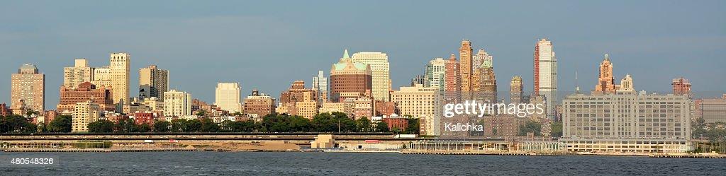 Panoramic view of Brooklyn. New York city, America : Stock Photo