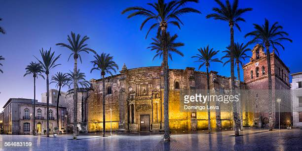 Panoramic view of Cathedral of Almeria, Spain