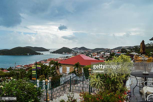 Panoramic view of Charlotte Amalie, St. Thomas, Virgin Islands