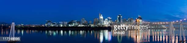 Panoramic View of Cincinnati at Dawn (XXXL)