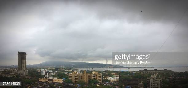 Panoramic View Of Cityscape Against Sky