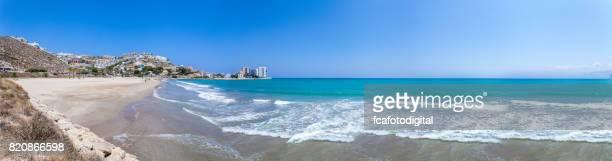 Vue panoramique de Cullera plage et village