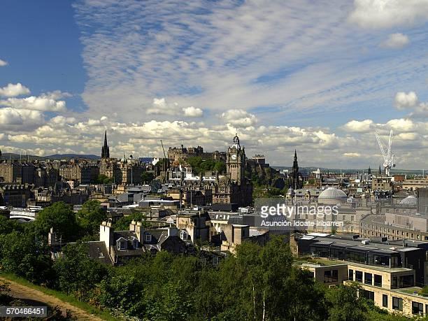 Panoramic view of Edinburg