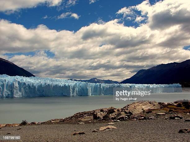 Panoramic view of Glacier Perito Moreno