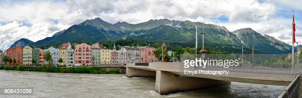 Panoramic view of Innsbruck, Tirol, Austria
