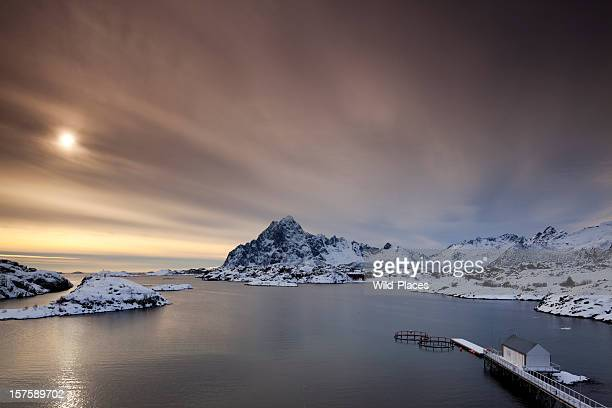 Panoramic view of Kabelvag, Lofoten