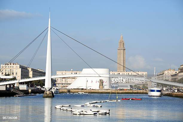 Panoramic view of Le Havre in France