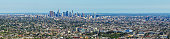 Panoramic view of Los Angeles from Griffith Observatory