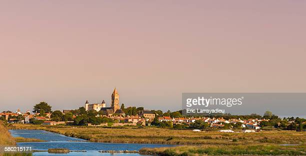 Panoramic view of Noirmoutier-en-Ile
