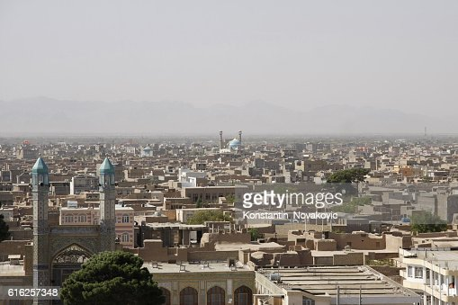Panoramic view of Old Herat, Afghanistan : Stock Photo