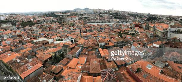 Panoramic View of Porto old town