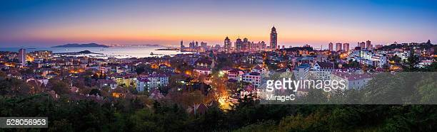 Panoramic View of Qingdao City,Panorama City