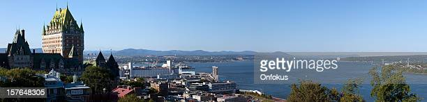Panoramic View of Quebec City During Summer