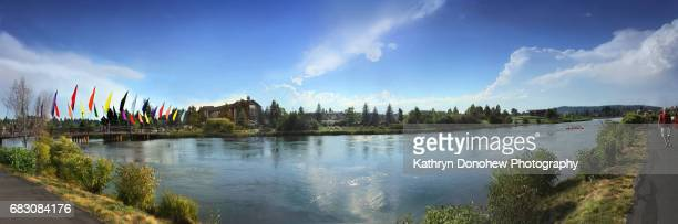 Panoramic view of Riverwalkway in Bend Orgon