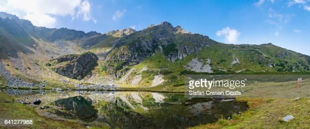 Panoramic view of Rodnei mountains