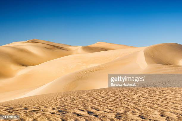 Panoramic view of Sahara Desert in Africa