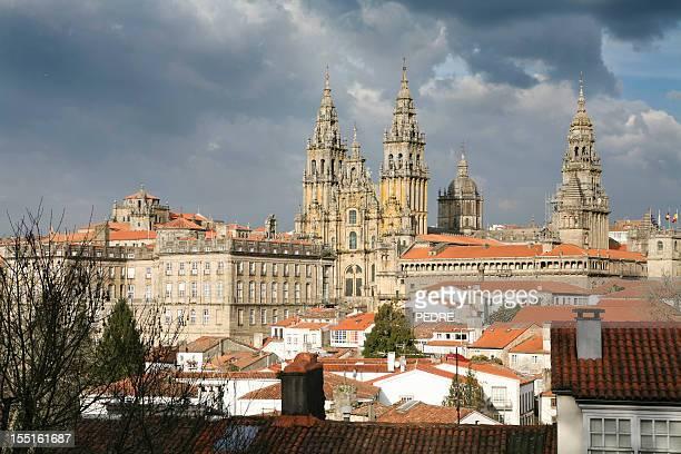 Panoramic view of Santiago de Compostela
