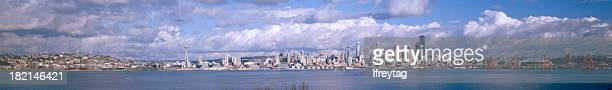 Panoramic View of Seattle, Washington, United States