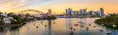 Panoramic view of Sydney CBD, Australia