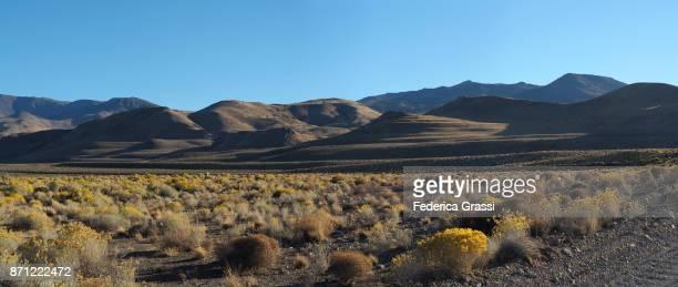 Panoramic View of The Eastern Sierra Nevada At Pyramid Lake