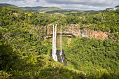 Alexandra Falls, Black River Gorges National Park, Mauritius. The falls sit 700m about sea level and you can enjoy spectacular panoramic views of the Southern part of Mauritius.