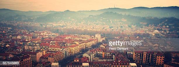 Panoramic view of Turin