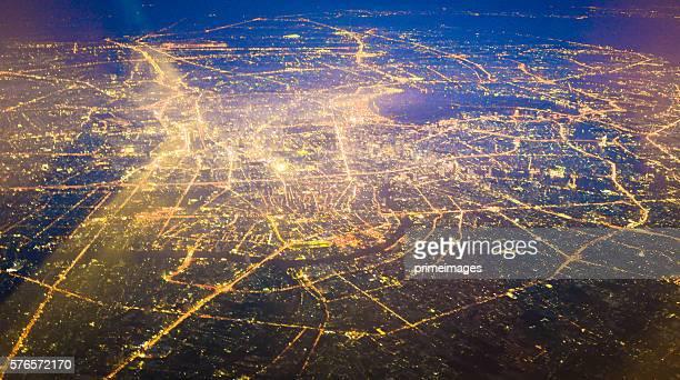 Panoramic view of urban landscape Bangkok thailand