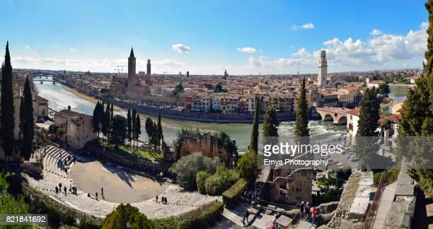 Panoramic view of Verona, Veneto, Italy