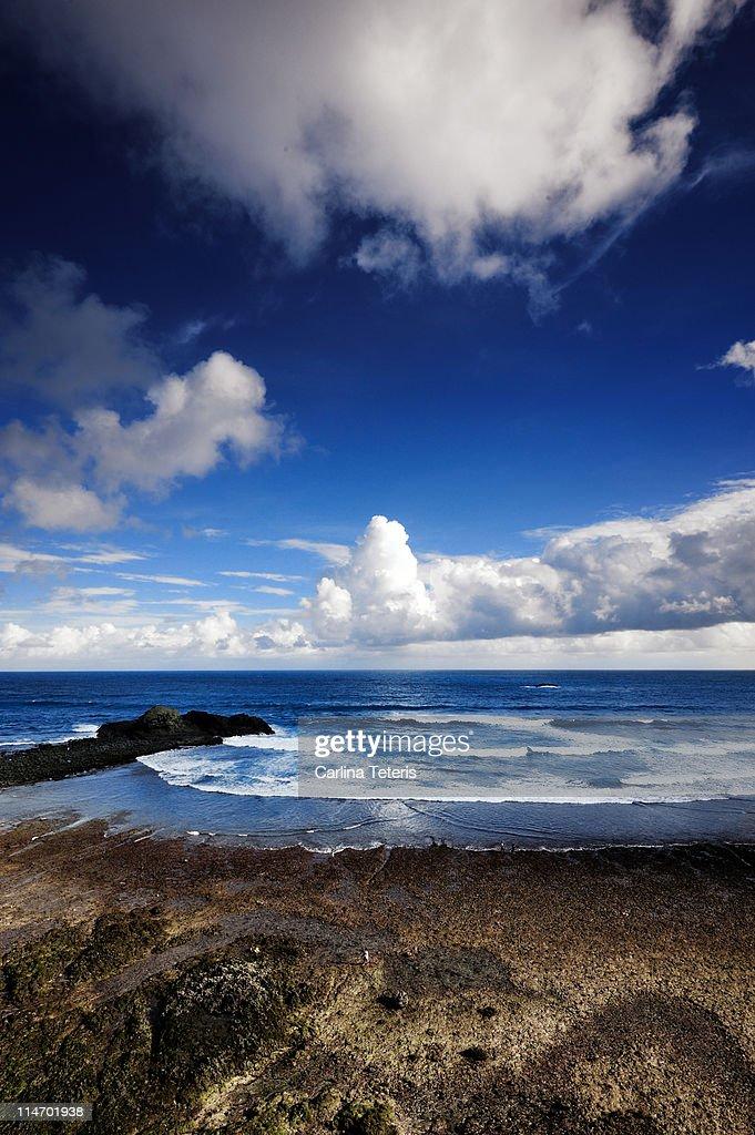 Pantai Segar - Vertical : Stock Photo