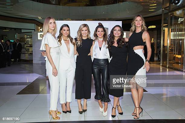 Pantene ambassadresses Chiara Ferragni Paulina Goto Michelle Salas Pamela Allier Ana Brenda Contreras and Gisele Bundchen attend the Pantene...