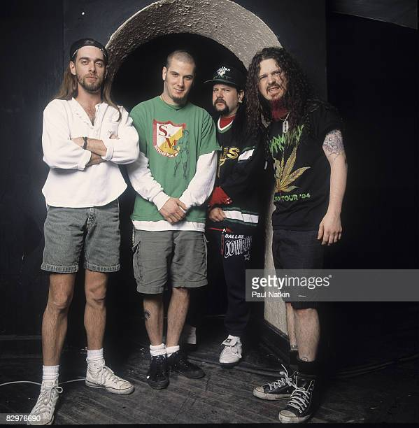 Pantera on 3/4/93 in Chicago Il