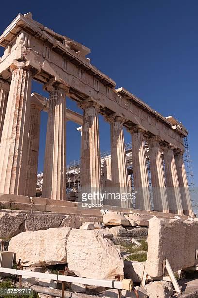 Panthenon under reconstruction, Acropolis Athens