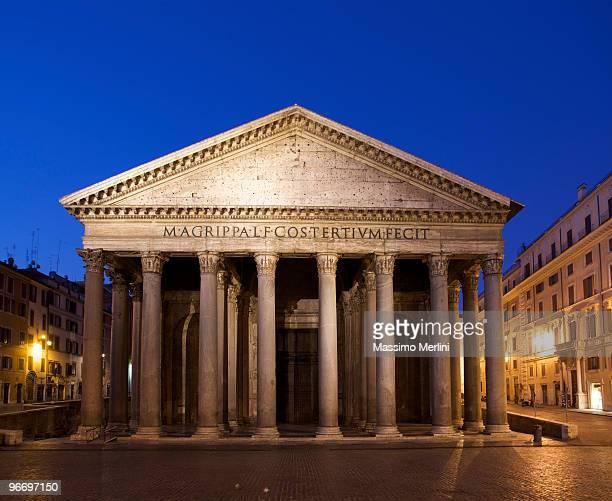 Pantheon in Rom in der Abenddämmerung