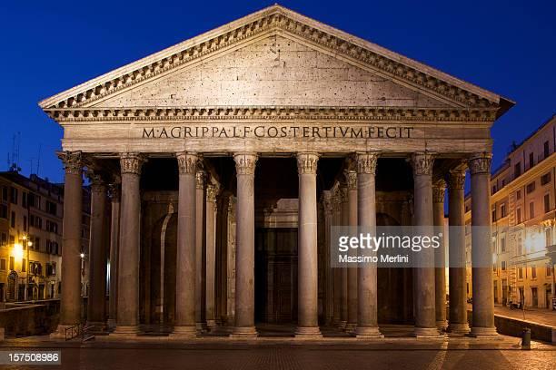 Pantheon all'alba